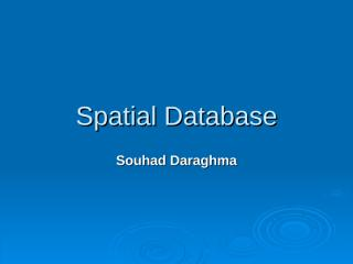 4457Spatial_Database.ppt