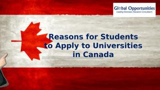 Reasons for Students to Apply to Universities in Canada.pptx