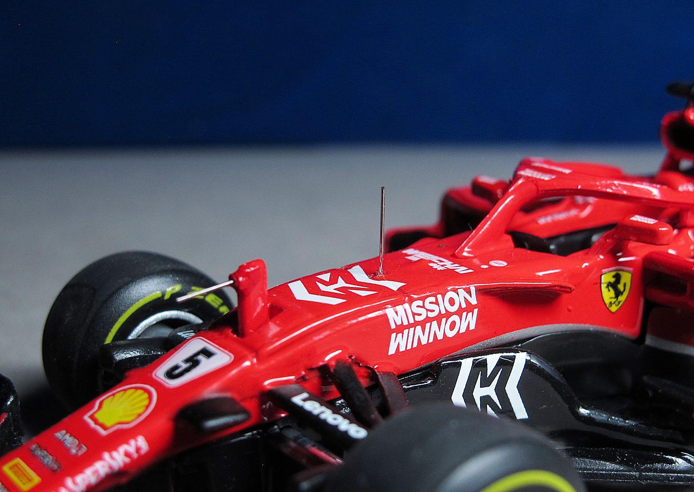 Formula 1 №37 - Ferrari SF71-H - Себастьян Феттель (2018)