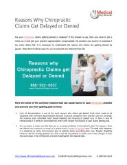 Reasons why Chiropractic Claims get Delayed or Denied.pdf