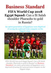 FIFA World Cup 2018 Egypt Squad - Can a fit Salah shoulder Pharaohs to gold inRussia!.pdf