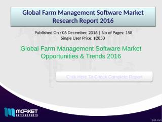 Global Farm Management Software Market Research Report 2016.ppt